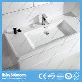 Горячая продавая тщета ванной комнаты с зеркалом и 2 бортовыми шкафами (BF381D)