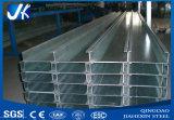 Purlin d'acciaio coniato a freddo galvanizzato della Manica della struttura d'acciaio C del materiale Q235/Q345