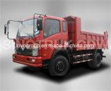 Sinotruk Cdwの軽トラック4X2のダンプトラック