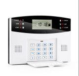 Sistema de alarma de seguridad móvil llamada GSM