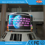 HD P2.5 LED de interior a todo color que hace publicidad de la tarjeta para construir a Pasillo