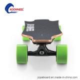 Patín eléctrico de la rueda de la fibra 4 del carbón con Bluetooth teledirigido
