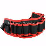 Valigia attrezzi rossa resistente del piccolo supporto della vita della cinghia dell'elettricista di Polyetser