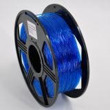 Plastique de PLA du filament 5kg/Roll de PLA utilisé par imprimante du prix de gros 3D