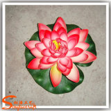 Bloem van Lotus van de Decoratie van Rockery de Kunstmatige Waterdichte Plastic