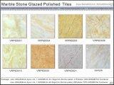 Azulejos de suelo esmaltados Polished de mármol de la porcelana (VRP6D060, 600X600m m)