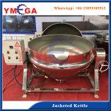 Sucre d'usine de machine de nourriture fondant faisant cuire la machine revêtue de bouilloire de bac