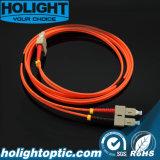 Sc óptico de la cuerda de corrección de la fibra a la naranja a dos caras con varios modos de funcionamiento del Sc