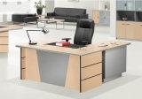 단순한 설계 나무로 되는 탁상용 MDF 사무실 책상 (HX-AD803)