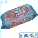 주문을 받아서 만들어진 로고 및 명세 Softe 및 온화한 생물 분해성 아기 젖은 닦음