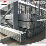 Acero hueco galvanizado de la sección para la construcción y la estructura de acero