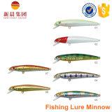 Hundres Farbeharte Minnow-Fischen-Köder