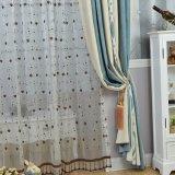Limpiar la tela de la cortina del apagón del telar jacquar del Chenille del dormitorio del estilo