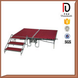 Concert en plein air Utilisation Aluminium en métal Folding Mobilable Wedding Portable Stage