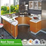 Подготавливайте сделанную мебель кухни PVC