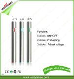 Form-Art E-Zigarette dünnes 300mAh wärmen justierbare Batterie der Spannungs-510 vor