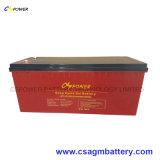 bateria profunda do gel da bateria 12V 200ah do inversor do ciclo 12V