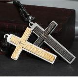 Förderung-Geschenk-Form-Schmucksache-Halsketten-Edelstahl-Kreuz-Anhänger