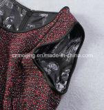 Alineada del chaleco del `S de las mujeres de Red&Black