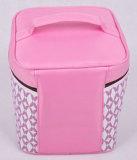 Rosafarbene grosse Kapazitäts-beweglicher kühlerer Isolierbeutel für Picknick