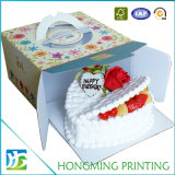 Take Away Corrugated Cardboard Decorative Cake Boxes