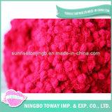 Lanas Merinas China de la Alfombra de las Ovejas del Color del Camello de la Materia Textil