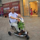 La fábrica de China suministra la vespa eléctrica plegable de la movilidad de tres ruedas de la venta caliente 2017 para las personas mayores