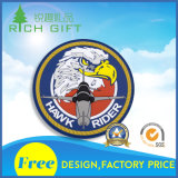 Custom Metal / Plastic / Embroidery / Soft PVC Auto Car Chrome Badge Emblema com logotipo