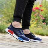 新しいポップコーンは靴、人の夏および秋の偶然の通気性の網の靴の流行の耐久性、衝撃吸収性、運動靴を遊ばす