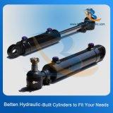 Cilindro hidráulico personalizado de pressão de petróleo