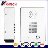 Intercom Auto-Dial de téléphone Emergency d'acier inoxydable avec le clavier numérique Knzd-03