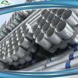 建築材ASTM A53のスケジュール40は鋼管のZnのコーティング60-400G/M2に電流を通した