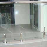 Espita de cristal del sostenedor 316 de la piscina de la cerca del carril de cristal del acero inoxidable