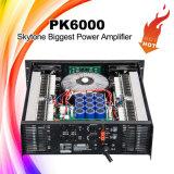 Pk6000高い発電DJの強力で健全なアンプ
