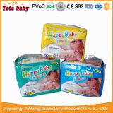 Couche-culotte heureuse ultra mince élevée choyante remplaçable de bébé d'absorptivité