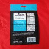 Projetar o auto do produto comestível que está o saco de papel de Zippe Brown com indicador