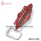 공장 주문 로고 승진을%s 단단한 사기질 금속 Keychain