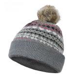Winter-Hut-Hutbeanie-Hut Acryljacquardwebstuhlbeanie-Hutkundenspezifischer des Knit-Hut-POM POM gestrickter