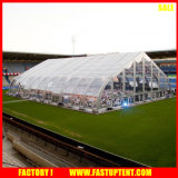 Grande tente européenne incurvée 25m d'usager de chapiteau de type d'échantillon par l'écran 40 imperméable à l'eau
