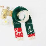 Fornitori all'ingrosso sciarpa lavorata a maglia inverno, regalo della Cina della fabbrica della sciarpa della sciarpa di natale piccolo