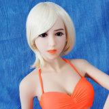 Jolie poupée de sexe de fille pour le jouet d'amour de silicones des hommes 140cm