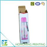 Rectángulo de empaquetado de cristal de imprenta del papel de la ranura de encargo de la cartulina