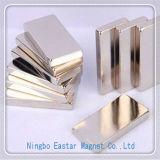 Ímã do Neodymium do chapeamento do zinco N40/niquelar