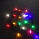 판매를 위한 LED 초 램프 크리스마스 옥외 반짝임 전구