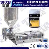 Completamente máquina de engarrafamento Semi automática dobro pneumática do frasco do mel da abelha da cabeça Sfgg-250-2