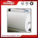papier de transfert neuf relâché de sublimation d'Anti-Image fantôme de roulis enorme de 17inch Fu-50GSM