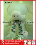 Porc mignon de jouet de peluche de vente chaude avec l'écharpe