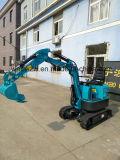 Verwendete Hyaraulic Miniexkavator-Teil-Miete 800kg