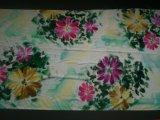 Reticolo di fiore magnifico del velluto di seta dipinto a mano