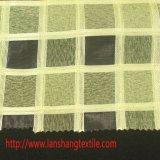 Il tessuto del poliestere ha tinto il prodotto intessuto tessuto chimico del tessuto del jacquard della grata per la tessile della casa della tenda del vestito dall'indumento